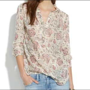 Madewell Blouse Size S